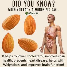 that sounds easy, 4 almonds a day. but there is more to do...www.PetraRakebrandt.com