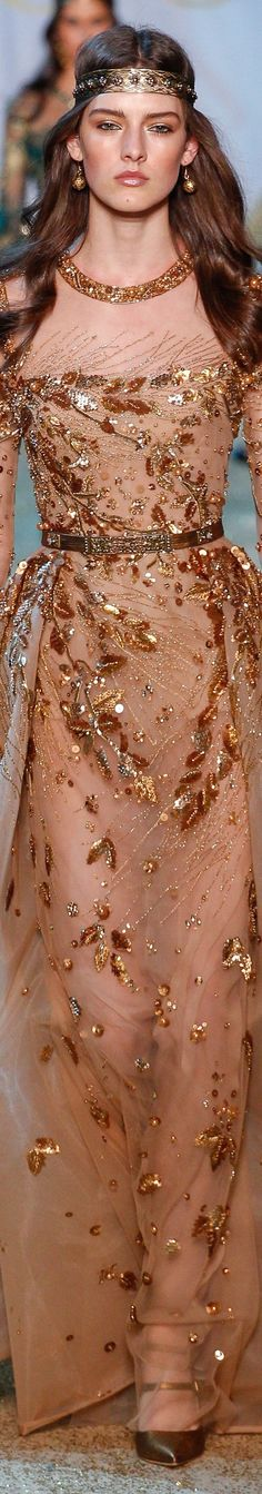Nolond Fashion: Elie Saab Spring 2017 Couture collection, beauty, models, Ready-to-Wear collection. Fashion Moda, Fashion 2017, Look Fashion, Couture Fashion, Runway Fashion, High Fashion, Fashion Show, Fashion Design, Elie Saab Spring