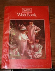 """Sears wish book......when my boys were little they would take a marker and circle all the things they """"wished"""" for........."""