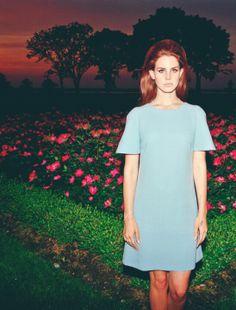 overexposure and simple denim dress