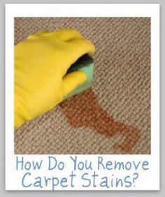 Remove nasty stains on carpets everytime, wing sauce, coffee, wine, lipstick, marker and more.