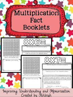 You will love these FREE multiplication booklets!  Your students will excel in multiplication once working through these booklets!
