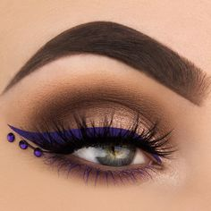 """1,632 Likes, 40 Comments - M A K E U P T H A N G (@makeupthang) on Instagram: """"Look inspired by """"Purple Rain"""" in honor of Prince ☔️💜 BROWS: @anastasiabeverlyhills Dipbrow Pomade…"""""""