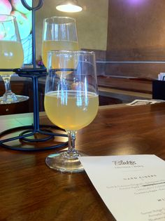 Flight of Blake's Hard Cider Co. (Armada, MI) www.blakeshardcider.com
