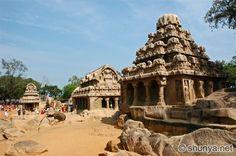 Rock Carved Temples - Mamallapuram, TN, India