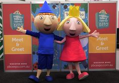 WIN some great Ben & Holly's Little Kingdom merchandise on our Facebook page! Check it out at www.facebook.com/pbcexpo - the post is pinned to the top of the page! #PBCExpo #Ben&Holly
