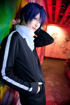 Yato | Noragami #cosplay #anime THIS IS THE BEST YATO COSPLAY I'VE SEEN GAH <3 <3 <3