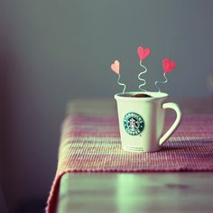 starbucks love!