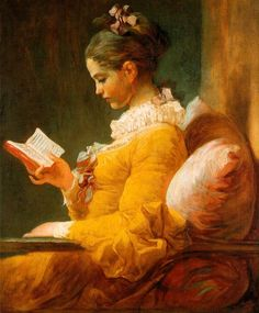 프라고나르 독서하는 소녀
