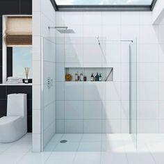 Luxury 8mm wet room enclosure glass panel pack
