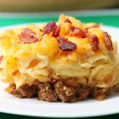 Bacon Cheeseburger Mac & CheeseGreat Recipes from FRENCH'S® Foods | FRENCH'S Mustard, Fried Onions, Worcestershire Sauce Products