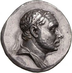 Tetradracma - argento - Ponto (Turchia) (220-185 a.C.) - Mitridate III diademato vs.dx. - Münzkabinett Berlin