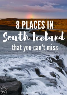 There are just some places, that you have to see when you are in Iceland. Check those 8 places in south Iceland you can't miss! | Worldering Around
