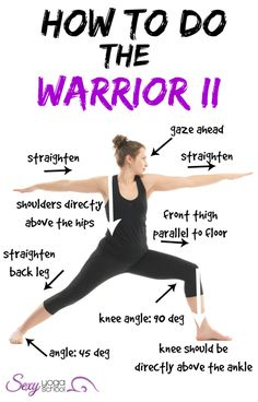 How To Do The Warrior II http://1lifetrhip.wordpress.com/ www.theyogabulary.com