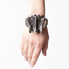 Large Vertebrae Bracelet by Skingraft