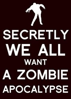 Only if Daryl Dixon is involved and has my back!