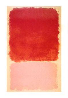 Mark Rothko - Orange and pink