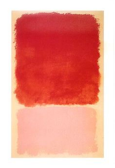 Mark Rothko - Orange and pink