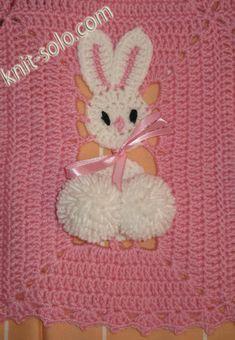 Plaid bunny crochet   http://knit-solo.com/plaid.html  No pattern