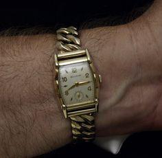 Bulova Watch Co.  17J Mens Rectangular by AliasSmithandJohnson, $185.00