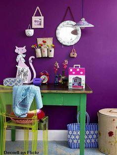 verde/amarillo complementario violeta