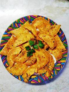 Édesburgonya chips👌😉 Chips, Ethnic Recipes, Food, Potato Chip, Essen, Yemek, Tortilla Chips, Meals