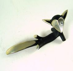 Walter Bosse Hagenauer Lounging Fox--loving these! Such simplistic character!