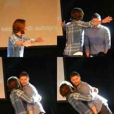 No, Jensen. You got much more to learn before you got the Sam Winchester bitchface. But nice try. You are getting better.