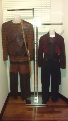 Rom and Nog: Mirror Universe Costumes.