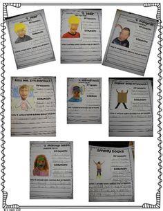 A BUNCH OF MUNSCH-A ROBERT MUNSCH BOOK STUDY PACK - TeachersPayTeachers.com