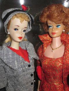 #4 Barbie in Career Girl.  Bubble Cut in Golden Elegance