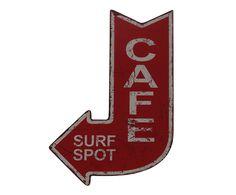Placa Decorativa Surf Spot - 25X40cm