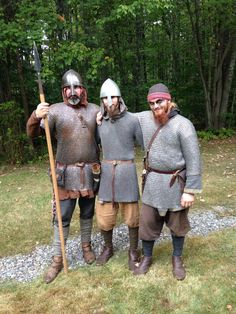Jarl Ingvar, Ragnar , and Bjorn #draugarvinlands #vikings  #vikingwarriors #vikingsword #sword #vikingshield