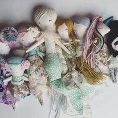 Handmade Dolls, fairies, mermaids, unicorns etc
