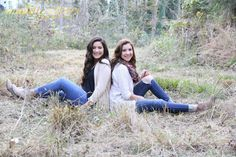 Sister shoot & these girls killed it! maddieclairephotography.com
