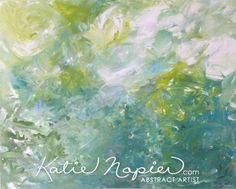 'Spring 5' - Vancouver Abstract Art - Katie Napier Original Modern Art - Abstract Artist