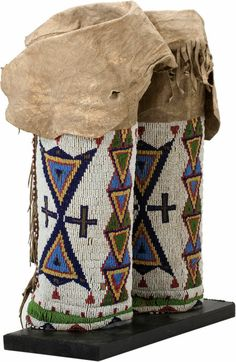 Quillwork by the Sioux Indians   Image Loading...