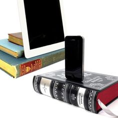 booksi: Books Turned iDevice Docks