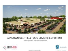 The main entrance to Sandown Centre shopping mall under construction in Parklands, Cape Town.    More info - http://blog.galetti.co.za/2012/08/sandown-centre-update/
