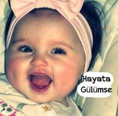 Her zaman hayata #gülümse...