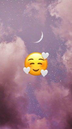 Teen Wallpaper, Emoji Wallpaper Iphone, Cute Emoji Wallpaper, Soft Wallpaper, Cute Patterns Wallpaper, Cute Disney Wallpaper, Cute Cartoon Wallpapers, Aesthetic Iphone Wallpaper, Broken Heart Wallpaper