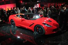 Still recognizable as a Corvette, the C7 is far more sculpted and aggressive than the outgoing C6.