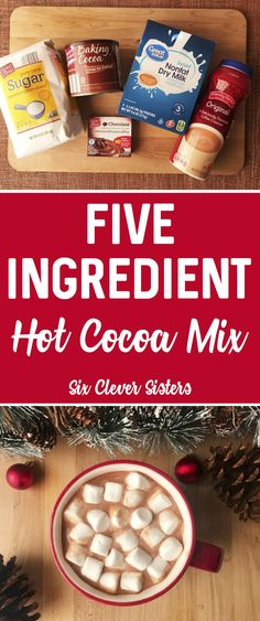 New gifts diy cristhmas hot chocolate 70 ideas Christmas Hot Chocolate, Chocolate Diy, Homemade Hot Chocolate, Hot Chocolate Recipes, Chocolate Party, Diy Dessert, Dessert Recipes, Cocoa Recipes, Hot Cocoa Mixes