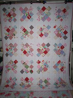 Handmade Patchwork Quilt or Throw Wi Cath Kidston Laura Ashley Single Double Bed | eBay
