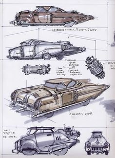 All sizes | Auto06 | Flickr - Photo Sharing! Fallout Concept Art, Fallout Art, Blender 3d, Cool Car Drawings, Art Drawings, Retro Futuristic, Futuristic Vehicles, Arte Cyberpunk, Retro Futurism