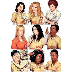 Resultado de imagen para orange is the new black fan art