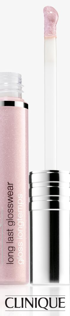 Make your lips sparkle with Long Last Glosswear in Whisper.
