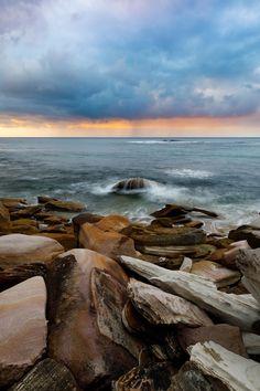 Rainy Sunrise over Cronulla Beach NSW, Australia Saltbox Houses, Old Houses, Travel Pics, Travel Pictures, Australia Beach, Best Sunset, Beach Aesthetic, Sunrises, Places To See