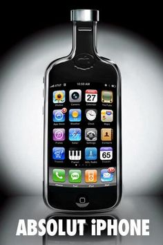 Absolut Vodka launched a iPhone app