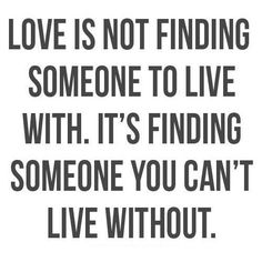 Finding Someone
